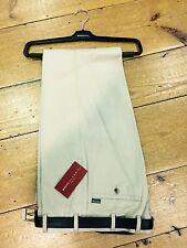 Bruhl Summer Cotton 'Montana' Regular Fit Trousers/Beige - 32/32 (3620/140))