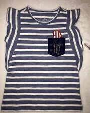 4th Of July Girls Top Children's Clothing