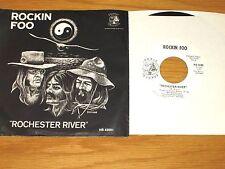 "60s ROCK 45 RPM w/PICTURE SLEEVE - ROCKIN FOO - HOBBIT 42001 - ""ROCHESTER RIVER"""