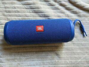 JBL Flip 4 Blue Portable Bluetooth Wireless Speaker System Bass IPX7 Waterproof