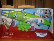 NEW Disney Toy Story Buzz Lightyear's Blaster 10 Balls Shoots 20' Space Ranger