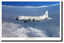 Eye Of The Hurricane by Mark Karvon (Large) - NOAA WP-3D Orion -Hurricane Hunter