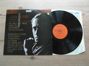 JOHN BARRY CONDUCTS HIS GREATEST MOVIE HITS-SUPERB AUDIO-CBS-EX VINYL LP 1967