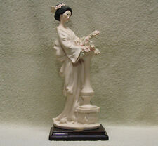 Italy Giuseppe Armani Florence Figurine ORIENTAL LADY WITH COLUMN - 0403S - New