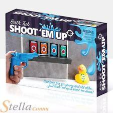 Bath Tub Shoot Em Up Bathroom Tin Can Water Pistol Game