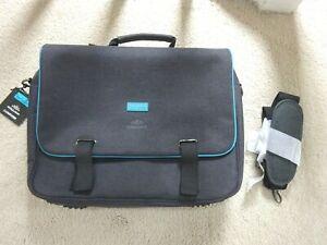 BNWT Ted Baker Bodywear Computed Mens Laptop Bag, Grey