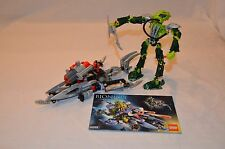 Lego Bionicle Warriors Lesovikk (8939) 100% Complete with Instructions