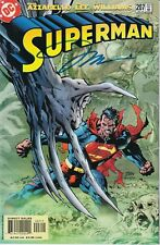 Superman #207 Signed By Jim Lee W/COA