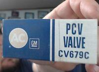 X1 NOS AC CV-679C PCV Valve 67 Camaro 66 67 Nova Chevy II GM 6421972