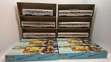 Athearn HO Train Lot of 6 Amtrak Passenger Cars All Ready To Run