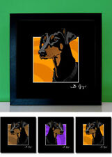 Dobermann No.2 Dobi - Pop Art Bild Poster Bilder Foto Portrait Hund pop-dogs