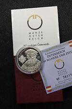 AUSTRIA 2002 20 EURO IN ARGENTO IL RINASCIMENTO FERDINANDO I PROOF FS