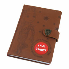 Guardians of the Galaxy Vol. 2 Baby I Am Groot Talking Audio Button A5 Notebook
