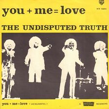 """UNDISPUTED TRUTH – You + Me = Love (1976 DISCO VINYL SINGLE 7"""" HOLLAND)"""