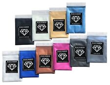 BLACK DIAMOND Mica Powdered Pigment -- Variety Pack #6  *10 Colors*