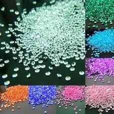 ca.2000 Dekosteine Diamanten Streudeko Deko Konfetti 4,5mm Hochzeit Tischdeko