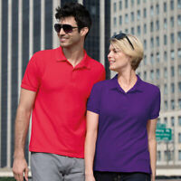 Gildan Men's DryBlend Double Pique Sport Polo Shirt T-shirt Polycotton Plain Top