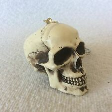 Made in USA Skull Skeleton head Key Ring Chain punk goth Rat Hot Rod Street 29KC