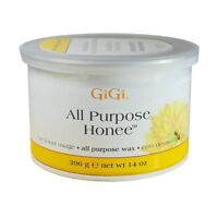 10 Jars - Gigi  Honee Wax All Purpose - Natural Hair Remove 14oz