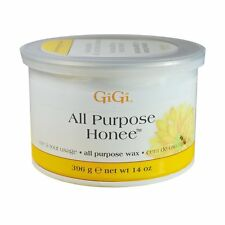 10 Jars - Gigi  Honee Wax All Purpose - Natural Hair Remove 14oz
