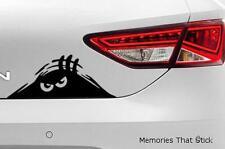 Scary Peeping Monster Funny Car Window Bumper 4x4 JDM VW DUB Vinyl Decal Sticker