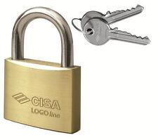 Padlock Brass Logo By Cisa 21010.50 Arc Normal MM.50 Steel Nickeled