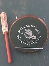 Mallardtone Custom Aluminum Turkey Call W/ Corn Cob Striker Friction Pot Nwtf