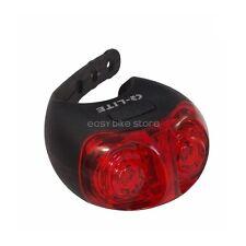 Q-LITE QL-281R 2 White LEDs Charging by USB Rear Light BIKE MTB ROAD
