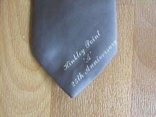 HINKLEY Point A Nucleur Power Station 25th Anniversary Tie
