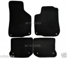 FIT FOR 1999-2005 VOLKSWAGEN GOLF JETTA MK4 ONLY BLACK CARPET FLOOR MATS
