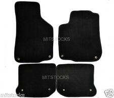 Black Coverking Custom Fit Front Floor Mats for Select Volkswagen Eos Models Nylon Carpet