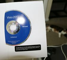 Microsoft Visio Professional 2013 - BRAND NEW - (32-bit and 64-bit)