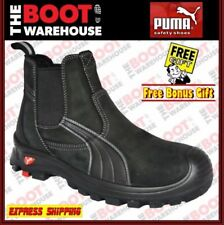 PUMA Leather Upper Work & Safety Boots for Men