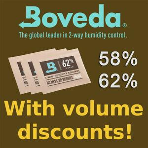 8 Gram pack Boveda 58% & 62% Humidity Control - RH 2-Way 8g Humidipak (UK stock)