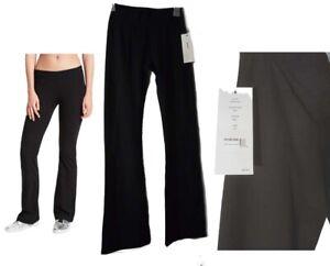 New DKNY Leggings XS Flare leg low rise stretch Black msrp $59.00