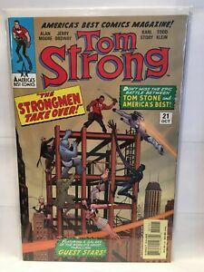 Tom Strong #21 VF/NM 1st Print America's Best Comics