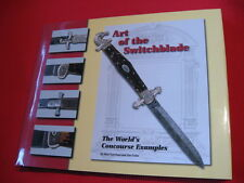 """Art of the Switchblade -The World's Concourse Examples"" Vintage Auto Knife Book"