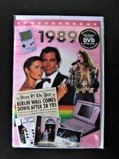 24059 1989 DVD CARD DVDCARD BIRTHDAY GREETING HISTORY
