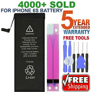 Battery For iPhone 6s internal replacement (1715mAh) Free oem Tools & tape