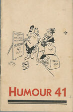 HUMOUR 1941 6 DESSINS ORIGINAUX SIGNÉS DUBOUT PEYNEY ALDEBERT CARRIZEY CARLOTTI
