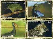 Timbres Oiseaux Nations Unies Genève 781/4 ** année 2011 lot 21323