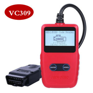 OBDII/EOBD Code Reader Car Diagnostic OBD2 Scanner Portable Diagnostic Tool