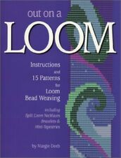 Out on a Loom: 15 Patterns and Instructions for Loom Bead Weaving Book The Cheap