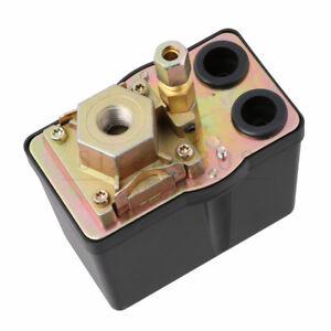G1/4 3 Phase Air Compressor Pressure Switch Control Valve 1 Port 57-178 PSI