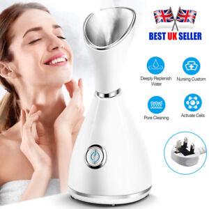 Digital Face Facial Steamer Spa Pores Steam Sprayer Skin Beauty Clean Mist Sauna