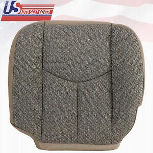 2003 2004 GMC Sierra 1500 1500HD Work Truck Driver Bottom Cloth Seat Cover TAN