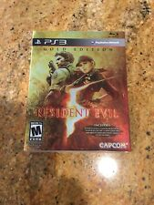 PS3 - Resident Evil 5 Gold Edition US Version Mint Flawless + LE Laser Cel