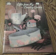 GIFTS FROM MY COUNTRY GARDEN CRAFT AND TOLE PAINTING BOOK BY ARLENE BECK