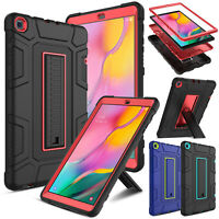 "For Samsung Galaxy Tab A 10.1"" 2019 SM-T510 T515 Case Hybrid Rugged Stand Cover"