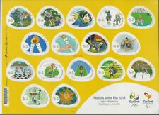 Our Rio 2016 Stamps – Olympic and Paralympic Games  16 stamps